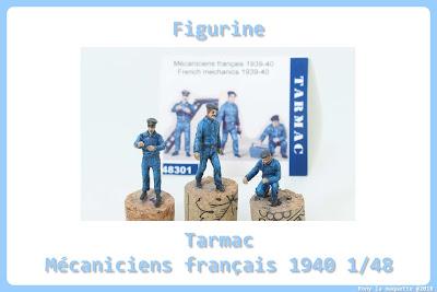 Figurine mécaniciens français 1939-40