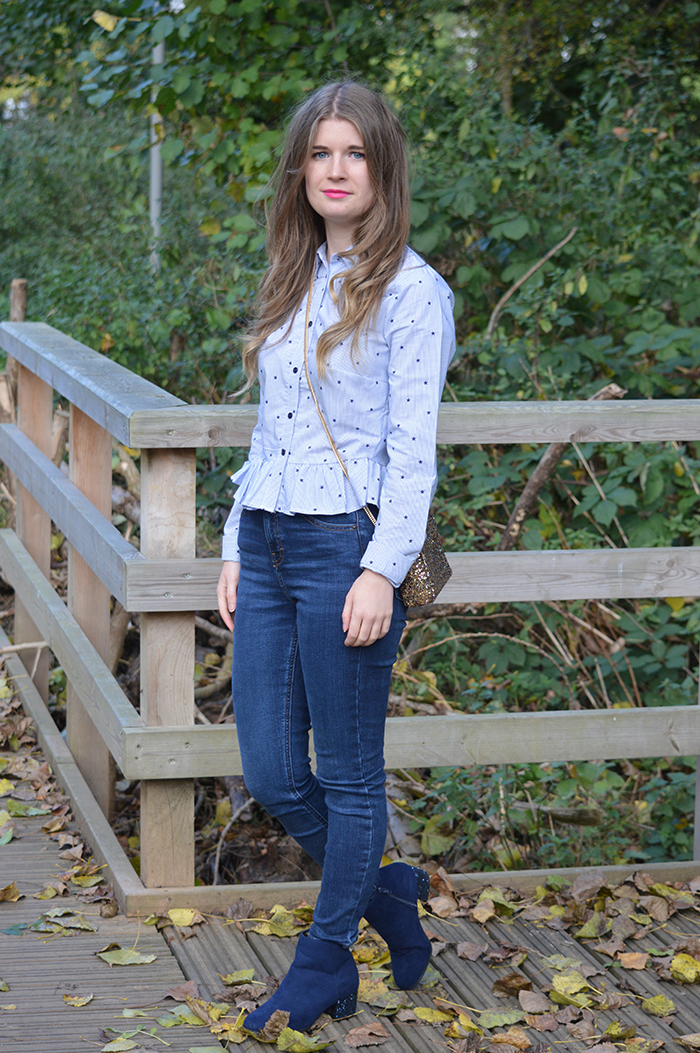 primark stripe shirt fashion blogger