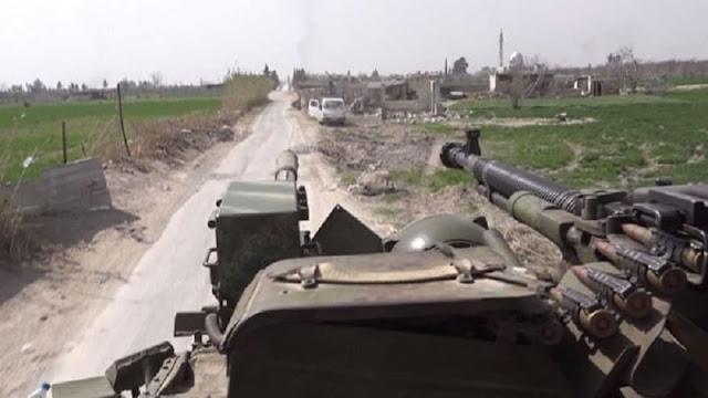 بالصلح والنار الجيش السوري يخترق الجنوب