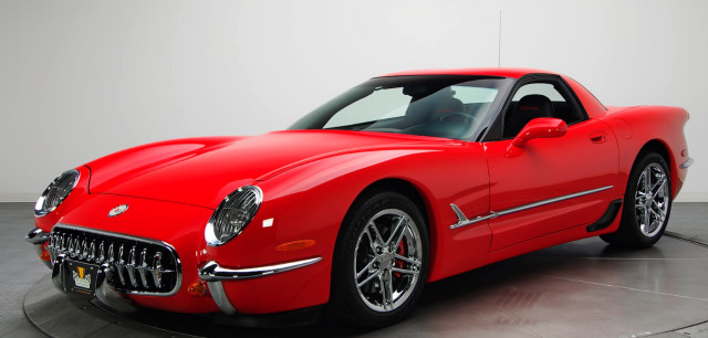 Hasil Modifikasi Chevrolet C5 Corvette Retro