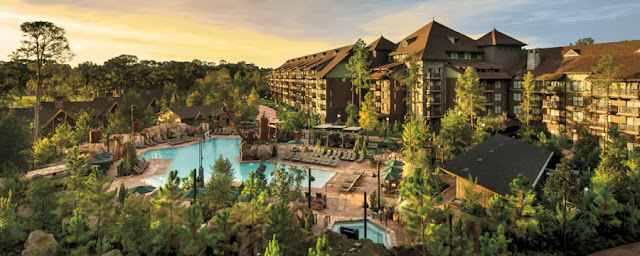 Disney's Wilderness Lodge, inspired by turn-of-the-century National Park lodges, features whimsical pools and terrific dining at Walt Disney World Resort.