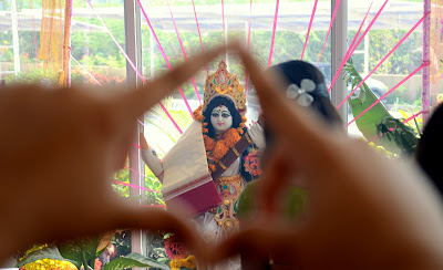 saraswati puja at PBEL city