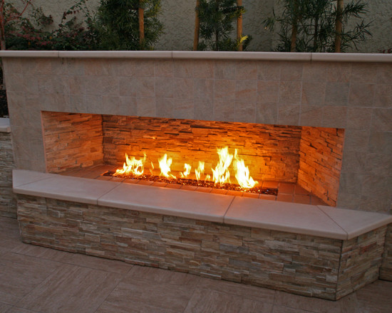 From Fancy To Picturesque Portable Permanent Find An Outdoor Fireplace Design Kansas City Suit Your Home S Architecture And Living Style