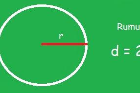 Rumus Diameter Lingkaran