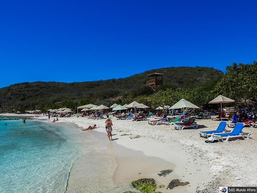 Praia Porto Mari - Curaçao: Tour de praias com guia brasileiro