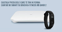 Castiga un cantar Xiaomi Mi Smart si o bratara fitness Mi Band 2