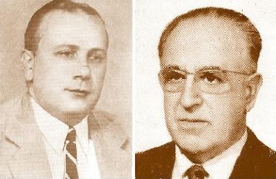 Los expresidentes de la FCdE, Almirall y Muntaner