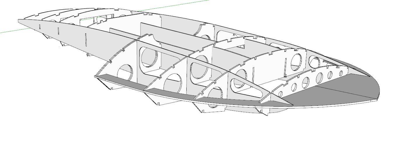 Slo-Mo-Shun V laser cut frames
