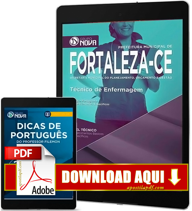 Apostila Prefeitura de Fortaleza 2016 PDF Download Técnico de Enfermagem