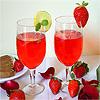 Valentine Rose Drink