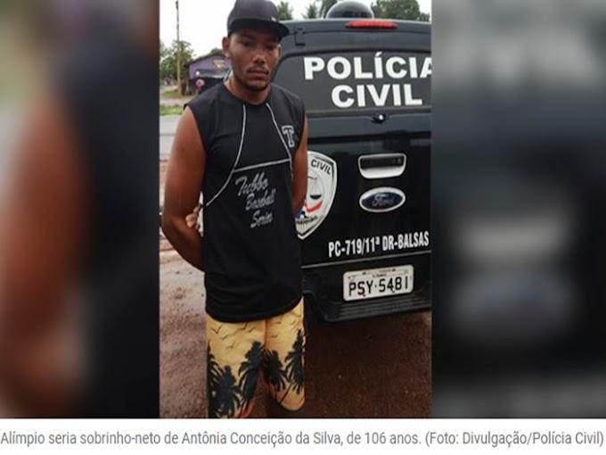 JUSTIÇA - Polícia prende suspeito de matar idosa de106 anos no Maranhão