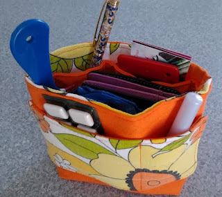 Debbie Rodrigues' Reversible Organizer crafted by eSheep Designs