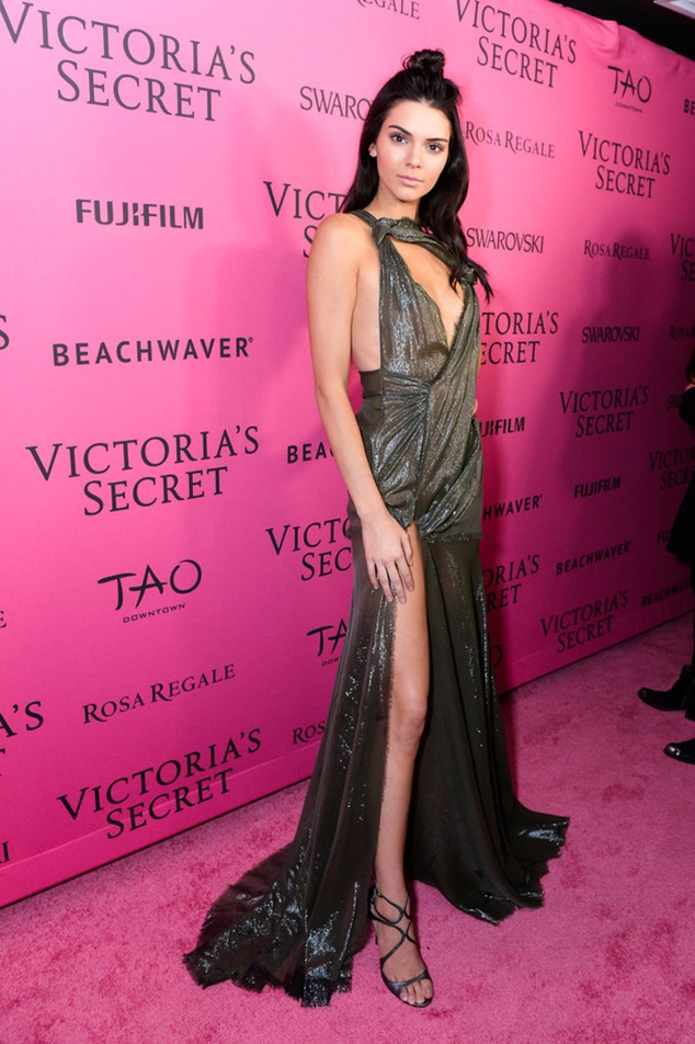 Kendall Jenner at the after party Victoria's Secret
