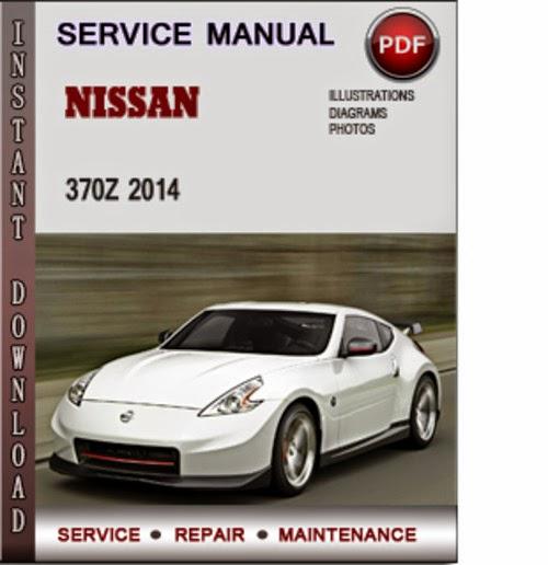 nissan 370z service manual