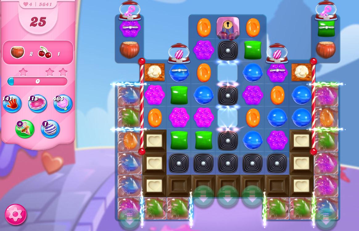 Candy Crush Saga level 5641