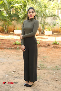Tollywood Actress Punarnavi Bhupalam Latest Po Gallery in Black Trouser Pant at Pittagoda Movie Interview  0168.JPG