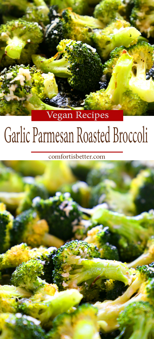 Healthy Garlic Parmesan Roasted Broccoli Recipe
