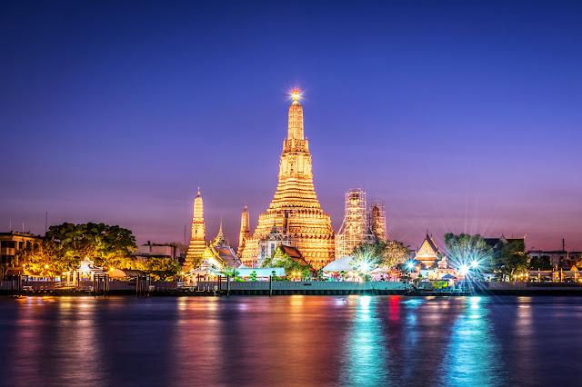 Wat Arun, el templo que se encuentra en las orillas del río chao phraya