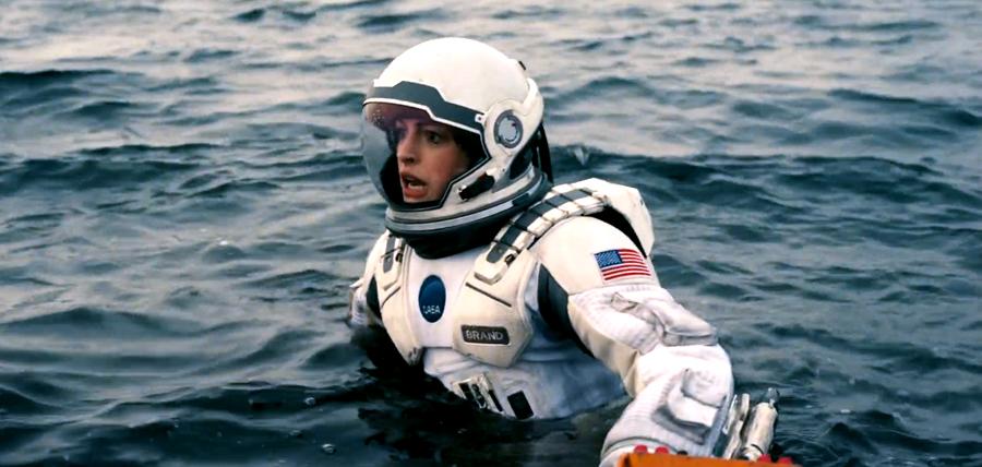 Anne Hathaway în Interstellar