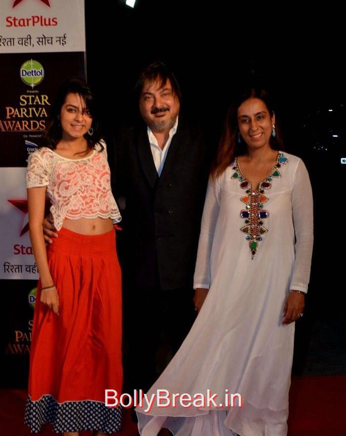 Tony Singh, Deeya Singh, Asha Negi Simone Singh Hot HD Images At Star Parivaar Awards 2015 Photo Gallery