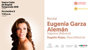 RECITAL: Eugenia Garza Alemán | Teatro Colon