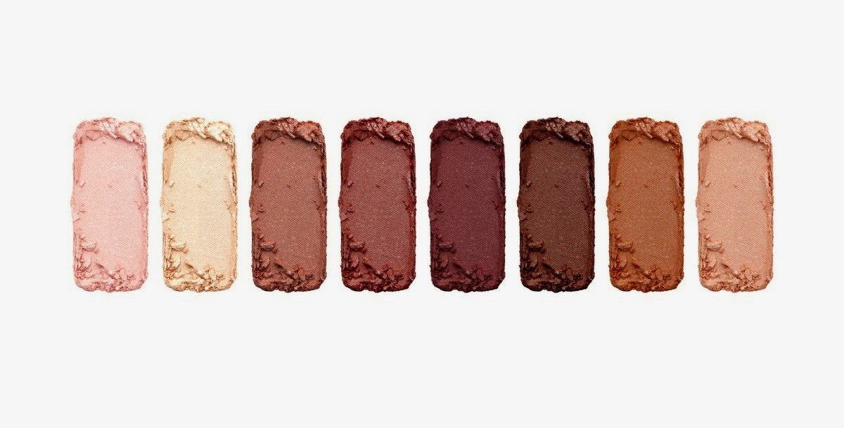 Pur Minerals Soul Mattes Eye Shadow Palette of Rosy Neutrals, swatches, jpeg