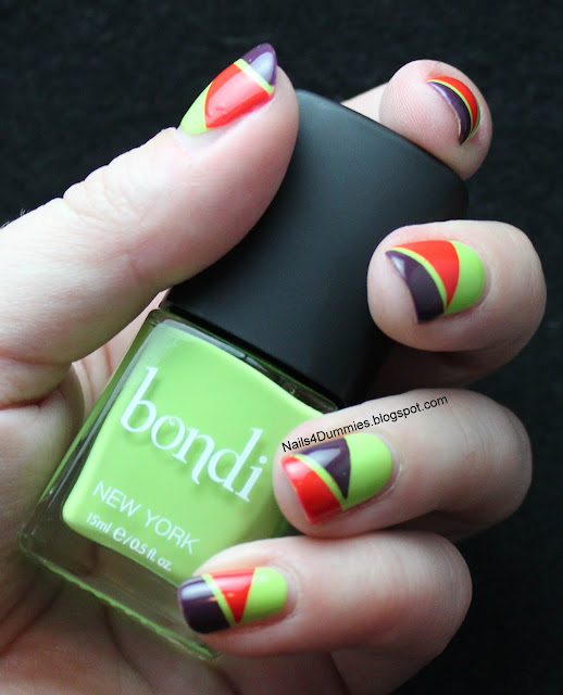 Nails4Dummies - Bondi New York Tape Mani