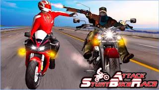 Game Stunt Bike Attack Race Apk