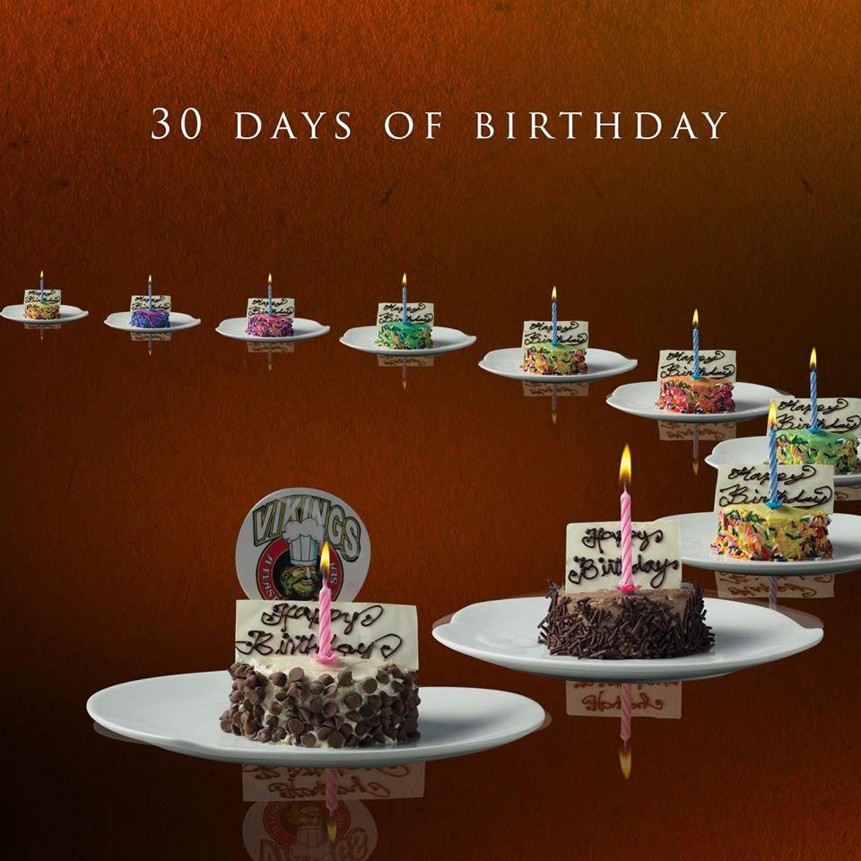 Manila Shopper Vikings 30 Days Of Birthday Buffet Promo