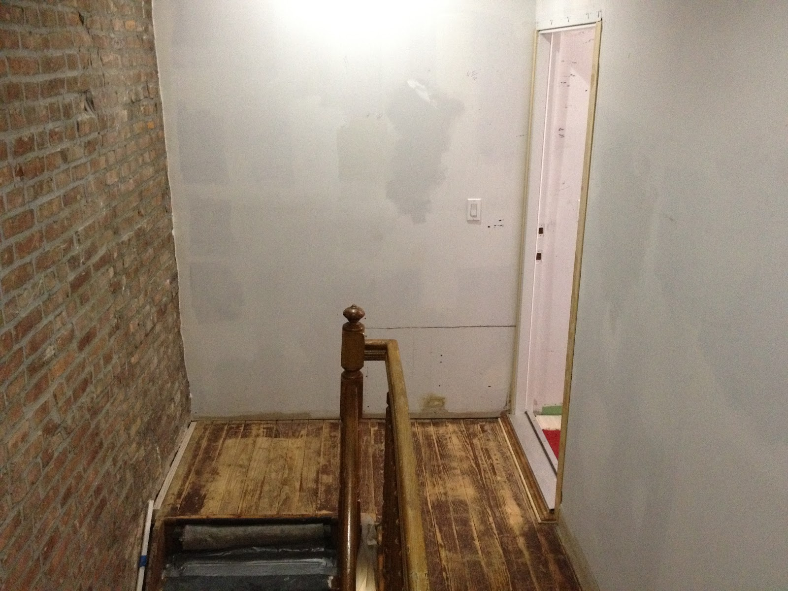 Buying Our First Home In Queens Ny Hallway Floor Door