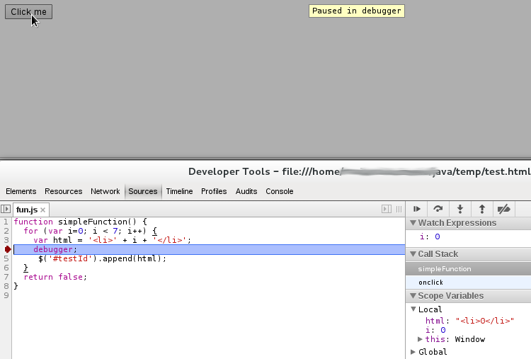 can we do better?: Debugging JavaScript in Chrome