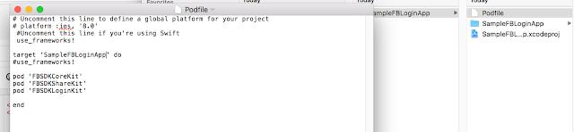 creating pod file