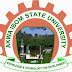 AKSU Registration/School Fees Payment Deadline - 2017/2018 Read Full Details Here