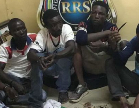 area boys arrested ojodu berger