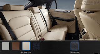 Nội thất Mercedes AMG GLE 43 4MATIC 2016 màu Vàng Ginger 225