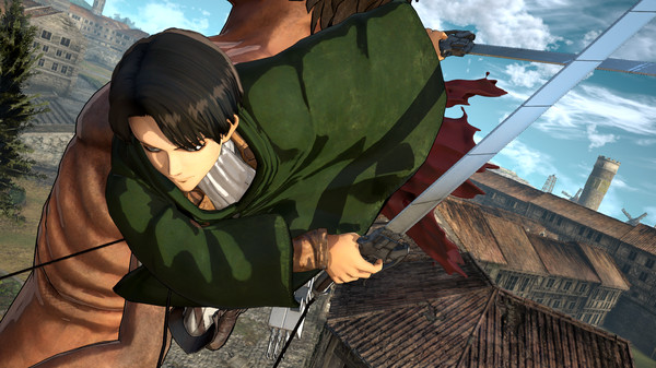 Attack on Titan Wings of Freedom PC Free Download Screenshot 2