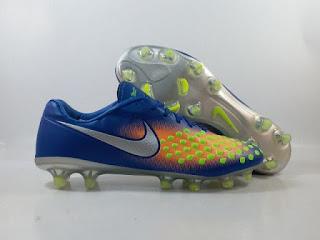 Nike Magista Opus 2 FG - Time to Shine Pack / Deep Royal Blue Orange