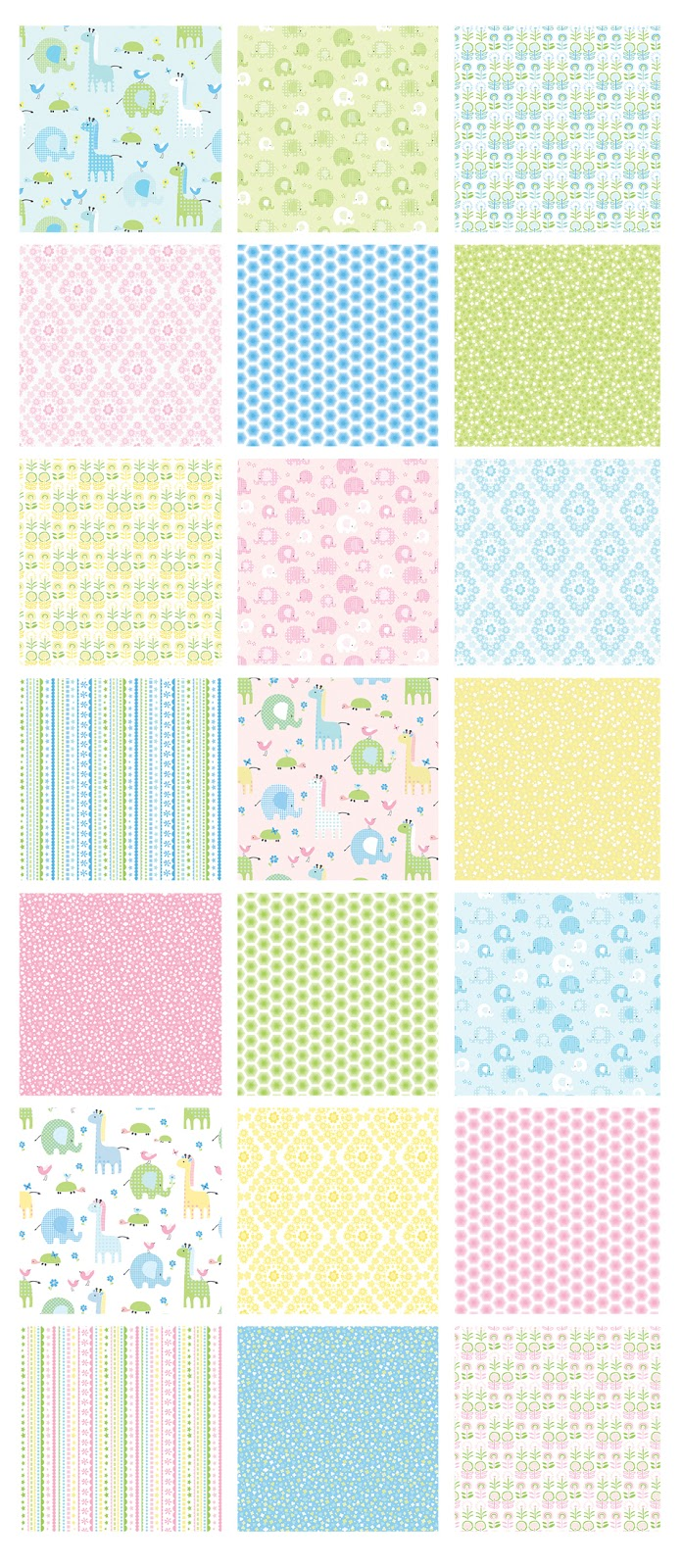 Sew in love with fabric bobo baby nursery cuteness for Nursery fabric