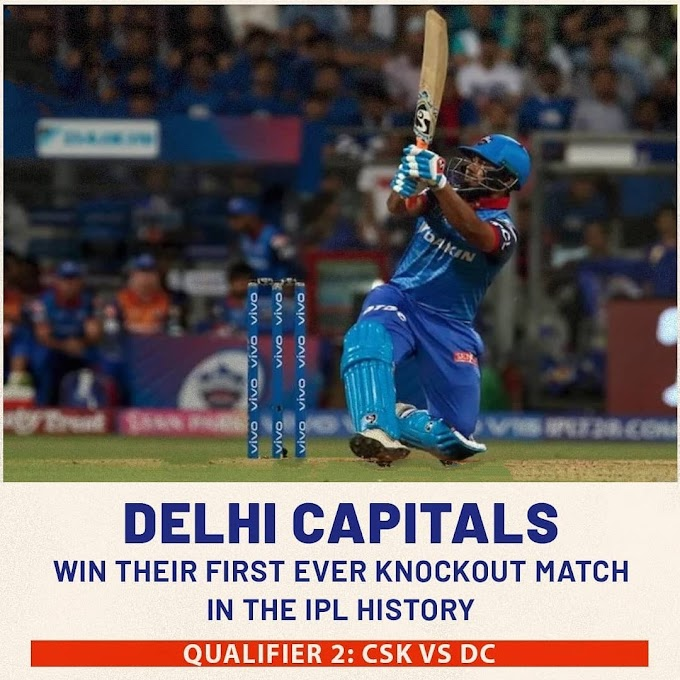 IPL 2019: Delhi beat SRH by 2 wickets in a thrilling encounter, Pant played an explosive knock