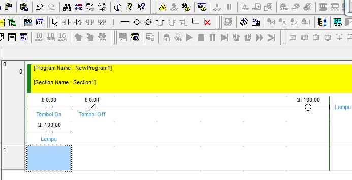 Cara simulasi ladder cx programmer omron tanpa terhubung plc contoh program plc omron ccuart Choice Image