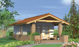 Bungalow house designs have turned into the absolute most mainstream and looked for after house designs accessible today. By deciding on bigger consolidated spaces, the intricate details of everyday life - cooking, eating and assembling - end up plainly shared encounters. What's more, an open floor design can make your home feel bigger, regardless of whether the area is modest. In this way, even a little, more affordable house design can offer the spaciousness you look for.  The first bungalow houses were very small and just one story in height. Homes frequently had wide verandas over the front or wrapping around the house giving extra family gathering areas. Today bungalows are still considered to be single stories yet may incorporate incomplete second floors or space zones.  These small bungalow house designs may simply help make your fantasy of owning a small house a reality. Building it yourself will spare you cash and guarantee that you're getting an amazing home. You'll discover an assortment of house ideas including home designs in an assortment of sizes from the small to as extensive as you can get the chance to be viewed as a small home. The styles may vary as well, so make sure to look at them all.