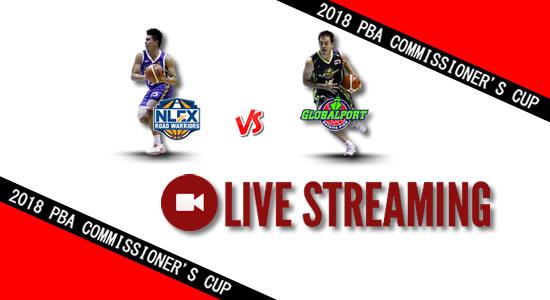 Livestream List: NLEX vs GlobalPort May 16, 2018 PBA Commissioner's Cup