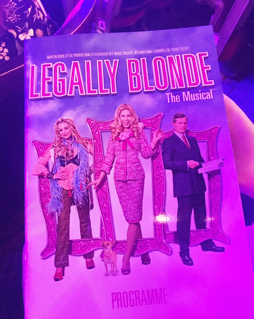Legally Blonde The Musical Programme