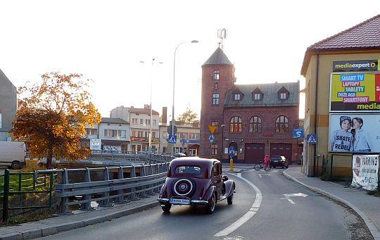 Ulica Słowackiego w Myślenicach.