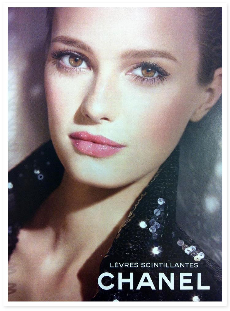 Chanel Makeup Brushes: Gisele Bundchen, Sigrid Agren