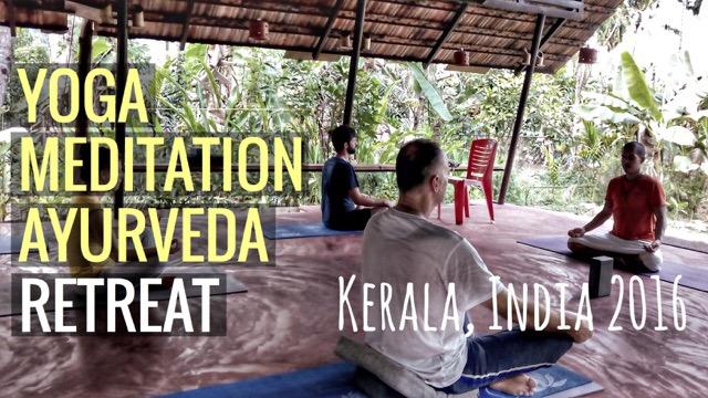 Yoga, Meditation, Ayurveda Retreat in Kerala 2016