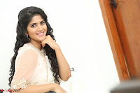 Megha Akash in beautiful Cream Transparent Anarkali Dress at Pre release function of Movie LIE ~ Celebrities Galleries 102.JPG