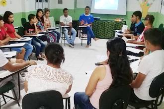 Grupo A Voz da Juventude da ONG Ceacri se reúne para tratar sobre diversidade e igualdade