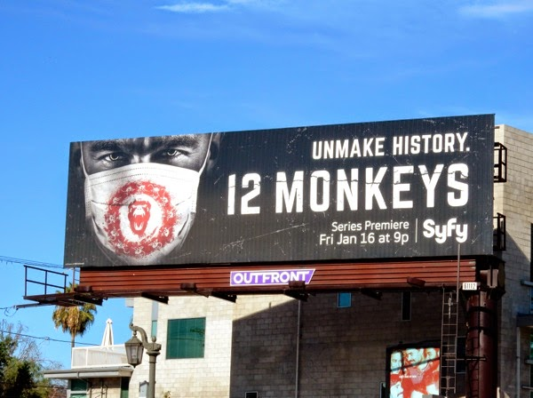 12 Monkeys series premiere billboard