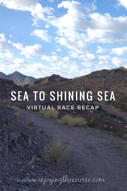 Sea to Shining Sea Virtual Race Recap